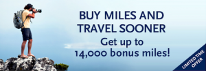 Get up to a 35% bonus when you buy miles.