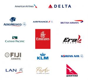 Alaska has amazing airline partners.