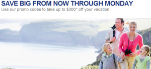 Get up to $300 off your American Airlines vacation package.
