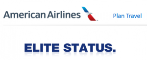 American Airlines made an announcement today regarding changes to acquiring elite status.
