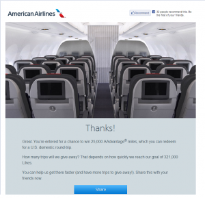 American Airlines Thanks