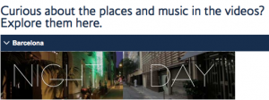 """Create a personal Barcelona trip with British Airways """"Yourope"""" campaign."""
