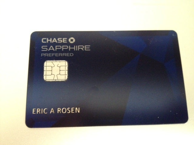 New Chase Sapphire Preferred With Emv Chip Arrived In The