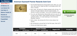 Cardmatch Premier Awards Gold