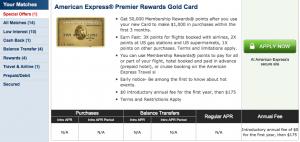Cardmatch Premier Awards Gold