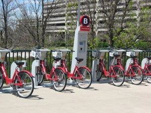 Denver's B Cycle Bike Share Program.