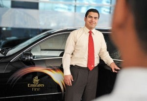 Emirates' chauffeur service is one of its flagship offerings.