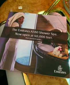 Emirates Shower