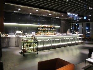 A shot of the main bar.