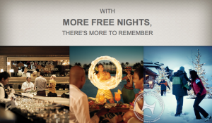 Earn up to 4X the Hilton HHonors points.