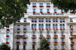 The Hotel Principe di Savoia.