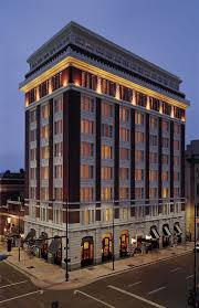 The Facade of the Hotel Teatro in Denver.