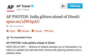 Indians light up to celebrate Diwali