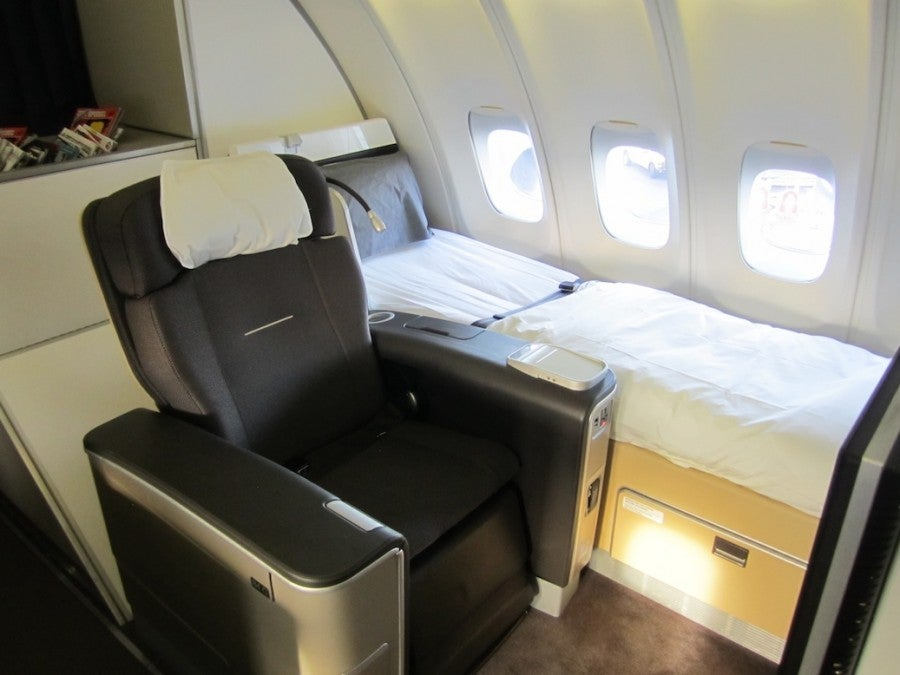 Flight Review Lufthansa First Class 747 400the Points Guy