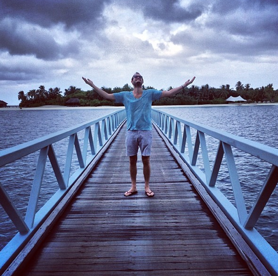 I can't wait to get back to the Maldives.