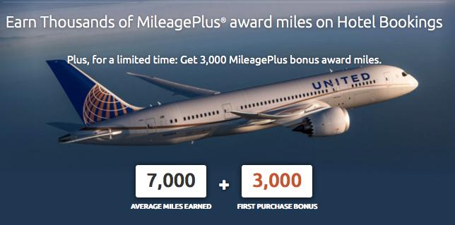 United Mileage Plus Rocketmiles