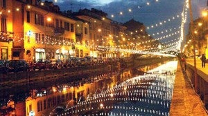 You don't have to go to Venice for canals, Milan has them too!