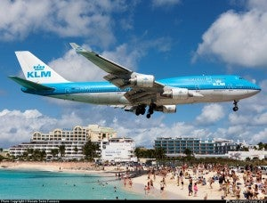 Our winning commenter wants to check out the 747's landing on St. Maarten.
