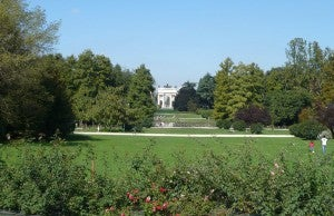 Relax in the Parco Sempione.