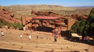 See a concert at Red Rocks.