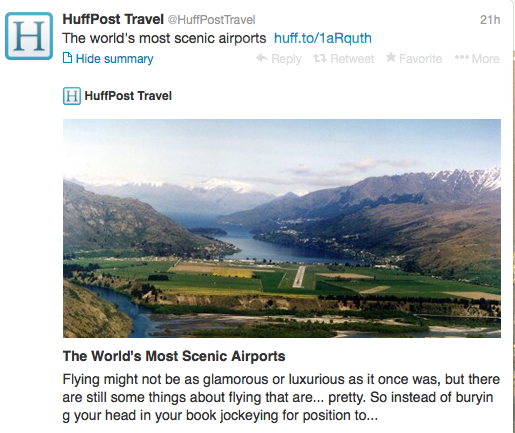 The most beautiful airports in the world.
