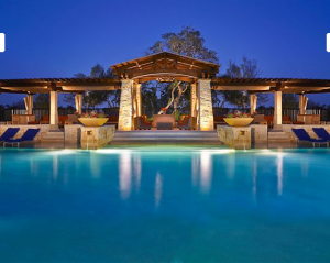 Cabanas at the River Bluff Water Experience