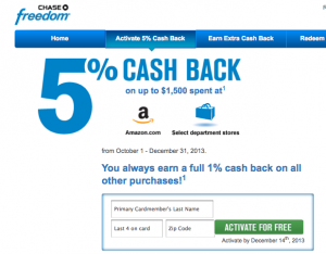Use bonus spending categories to your advantage.