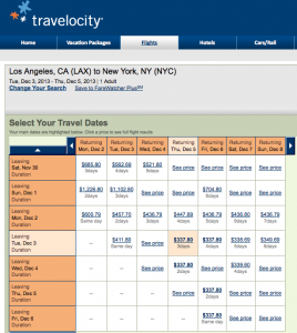 Travelocity can be clunky, but you can still find good deals.