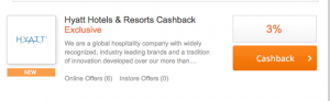 TopCashBack is offering an additional 3% savings.