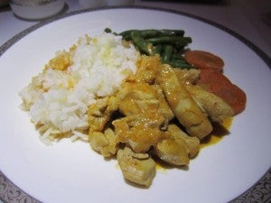 My penang curry chicken - special order!