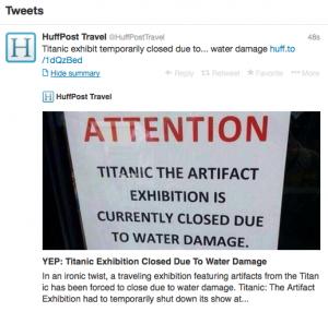 Titanic Flooding