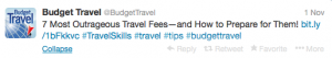 How to avoid terrible travel fees.