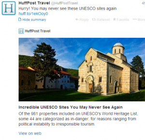 Get to these UNESCO sites ASAP!