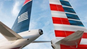 As part of the merger settlement - American must divest slots at DCA and LGA.