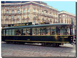 The Atmosfera Restaurant tram gives you a unique city tour while having lunch or dinner!