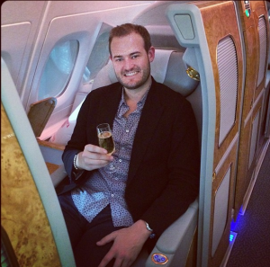 Ready for 14+ hours of pure Emirates first class bliss on the A380. Stay tuned for a 25k Skywards miles giveaway during my flight once I connect to inflight wifi!