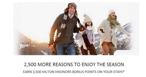Earn 2,500 bonus HHonors Points.