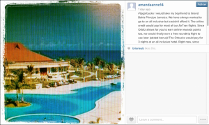 The winning Instagram post.