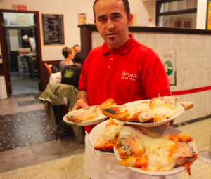 Get some of MIlan's best pizza at Pizzeria Spontini.
