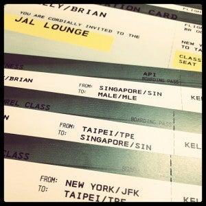 Starting off with JFK-Taipei on Eva Air Royal Laurel Class.