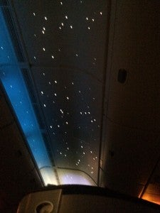 Sky interior lighting.