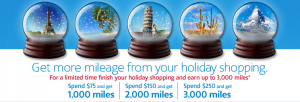 Get bonus miles from shopping via AA portals.