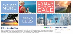 Take advantage of the Alaska Air Cyber Monday Sale until Dec. 9.