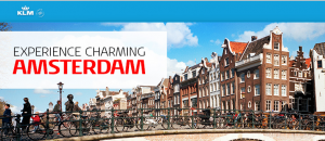 Win a trip to Amsterdam on KLM.