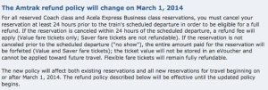 The full policy change was posted on the Amtrak site.