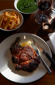 High quality grain fed beef is the secret of Rockpool's success.