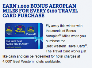 Maximize your earning with Best Western and Aeroplan.