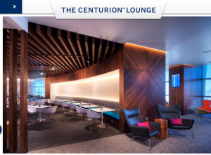 I'd love to see some more Centurion lounges open up...soon!