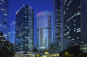 The Conrad Hilton Hong Kong.
