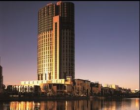 The Crown Towers Melbourne is one of three modern properties in the collection.